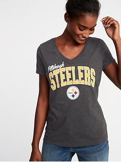 NFL&#174 Team Graphic V-Neck Tee for Women