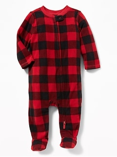 8b89dd2b4 Micro Performance Fleece Footed One-Piece for Baby