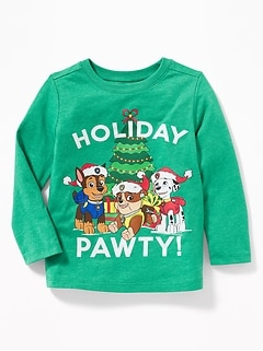 "Paw Patrol&#153 ""Holiday Pawty!"" Tee for Toddler Boys"
