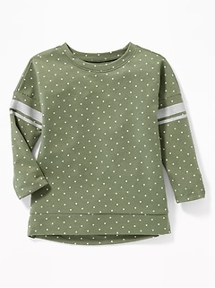 Hi-Lo Cocoon Tunic for Toddler Girls