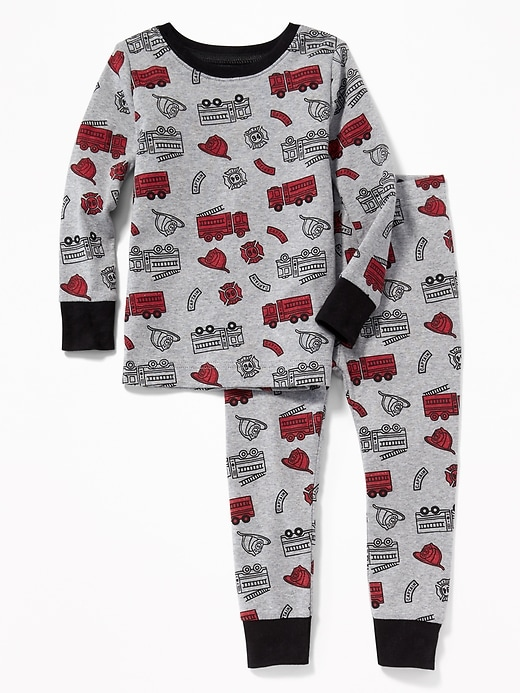 Firetruck Sleep Set For Toddler & Baby