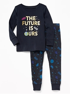 """The Future is Ours"" Sleep Set for Toddler & Baby"