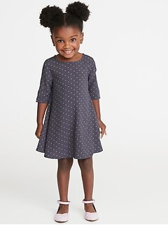 Swing Dress for Toddler Girls