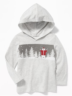 Graphic Hoodie for Toddler Boys