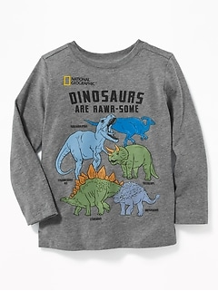 "National Geographic&#153 ""Dinosaurs Are Rawr-Some"" Tee for Toddler Boys"