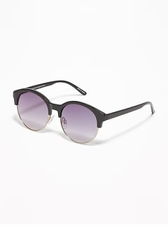 Half-Frame Sunglasses for Women