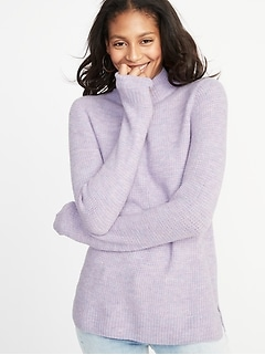 Mock-Neck Sweater for Women