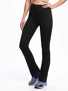High-Waisted Elevate Straight Compression Pants For Women
