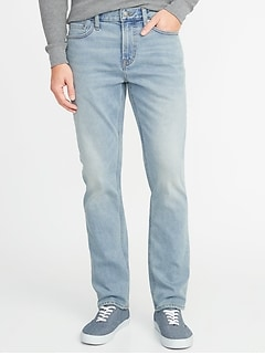 Slim Built-In Warm Jeans for Men