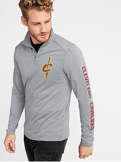 NBA&#174 Team-Graphic 1/4-Zip Pullover for Men