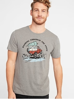 Holiday Humor Graphic Tee for Men
