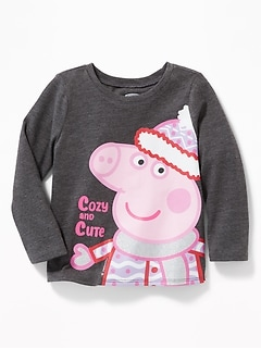 "Peppa Pig™ ""Cozy and Cute"" Tee for Toddler Girls"