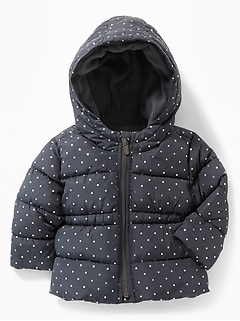 Hooded Frost-Free Jacket for Baby