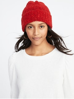 6b06ab23919 Winter Hats · Bouclé Beanie for Women