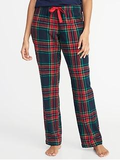 4f81107c8a Patterned Flannel Sleep Pants for Women