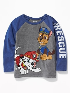 "Paw Patrol&#153 ""Team Rescue"" Raglan-Sleeve Tee for Toddler Boys"