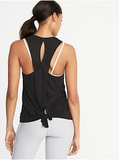 Relaxed Lightweight Cross-Back Performance Tank for Women