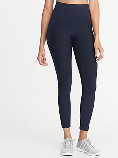 High-Rise Elevate Built-In Sculpt 7/8-Length Compression Leggings for Women