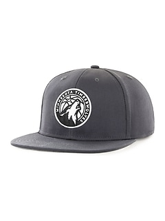 NBA® Team-Graphic Flat-Brim Cap for Adults