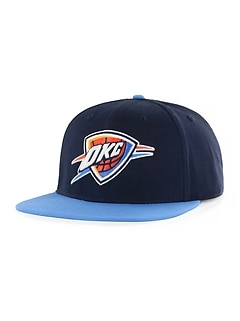 nba team graphic flat brim cap for kids