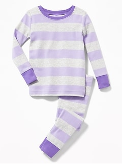 Striped Sleep Set for Toddler & Baby