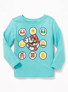 Super Mario&#153 Icon-Graphic Tee for Toddler Boys