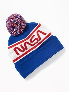 NASA&#174 Sweater-Knit Beanie for Men