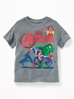 "Marvel Comics™ ""Be Amazing"" Tee for Toddler Boys"