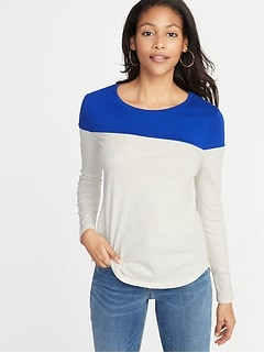 EveryWear Color-Block Tee for Women