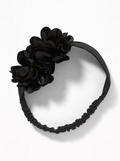 Satin Rosette Headband for Baby
