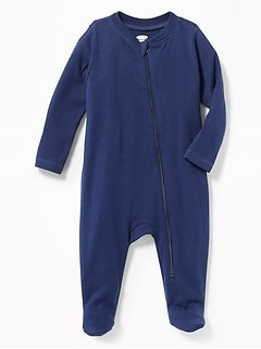 Zip-Front One-Piece for Baby