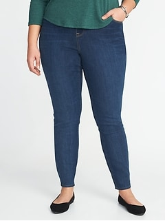 High-Rise Plus-Size Rockstar Pull-On Jeggings
