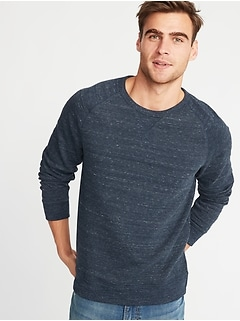 Classic Raglan-Sleeve Sweatshirt for Men