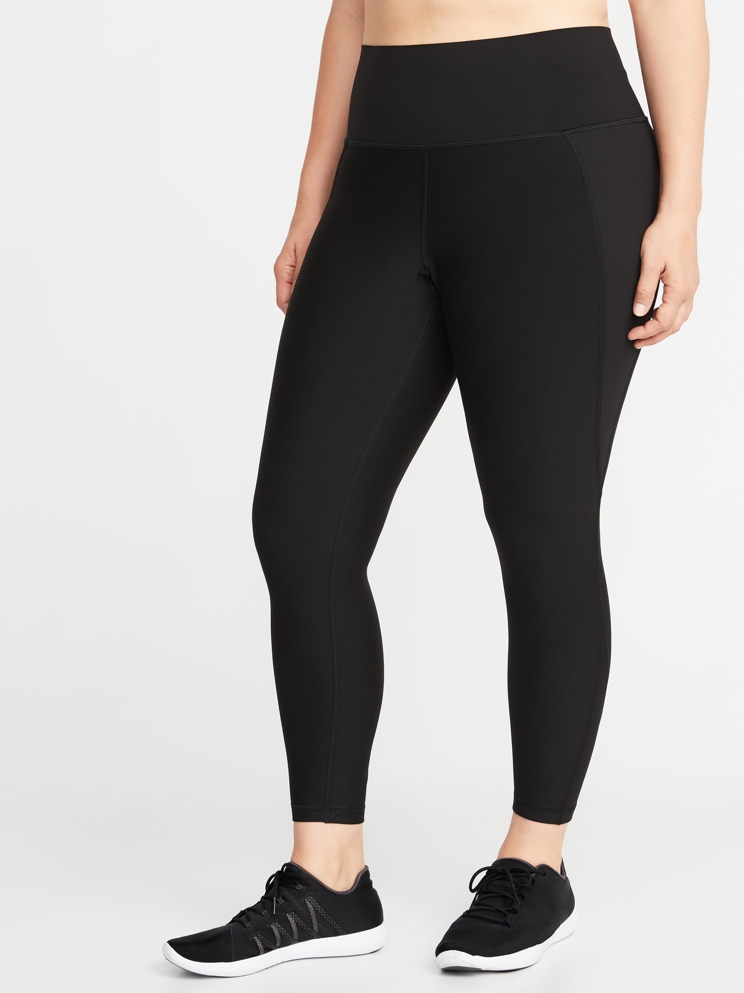 2f96410e5 High-Rise Elevate Built-In Sculpt Plus-Size 7 8-Length Leggings ...