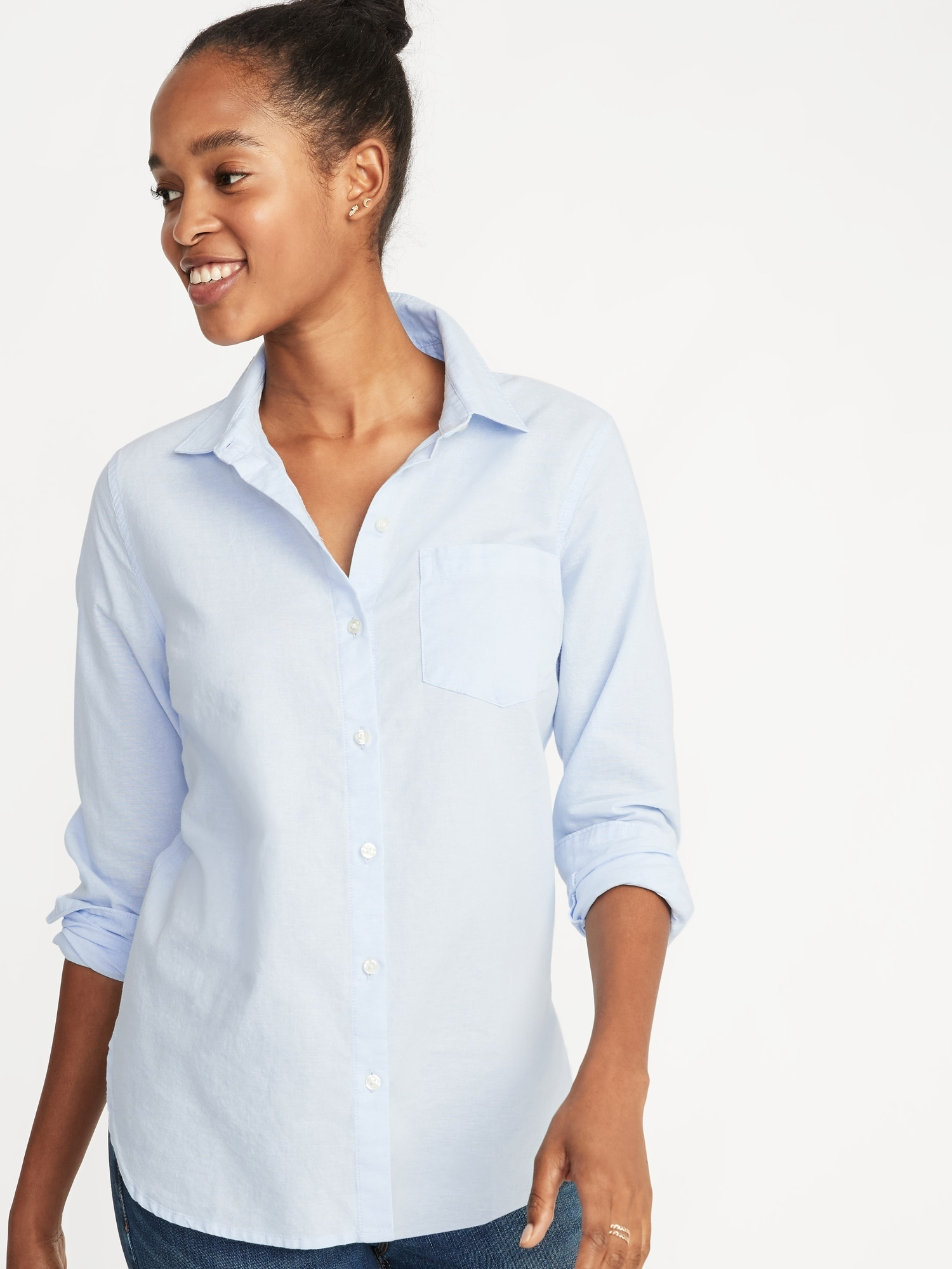 38386955 Relaxed Classic Shirt for Women | Old Navy