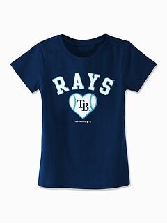MLB&#174 Team Heart Graphic Tee for Toddler Girls