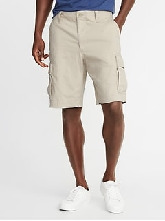 Lived-In Cargo Shorts for Men - 10-inch inseam