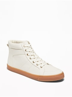 Twill High-Tops for Women