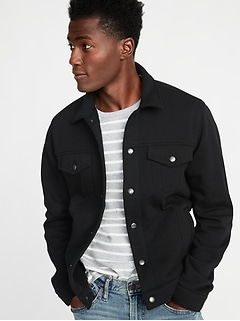 Fleece Trucker Jacket for Men