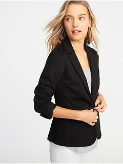 a7621da759b6 Classic Ponte-Knit Blazer for Women