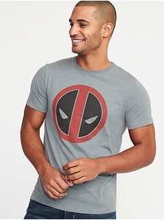 Marvel Comics™ Deadpool Graphic Tee for Men