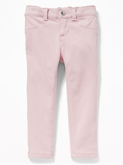 Ballerina 24/7 Pop-Color Skinny Jeggings for Toddler Girls
