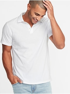 Soft-Washed Polo for Men