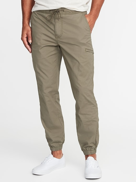 Built-In Flex Dry Quick Ripstop Utility Joggers for Men