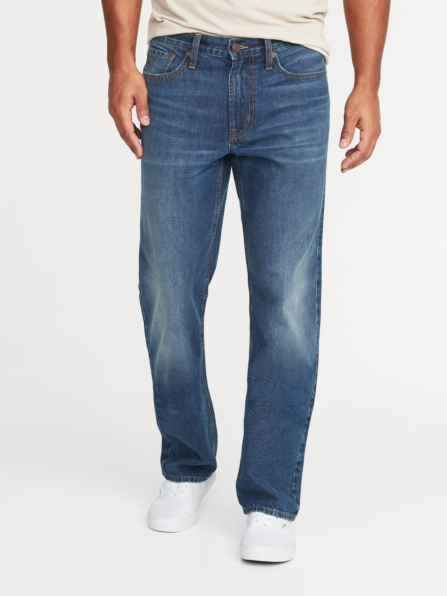 Old Navy Loose Rigid Jeans For Men