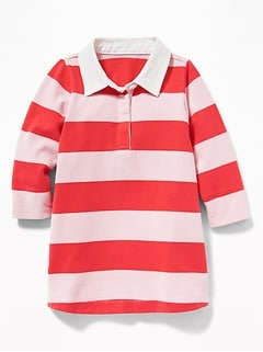 Rugby Striped Dress for Baby