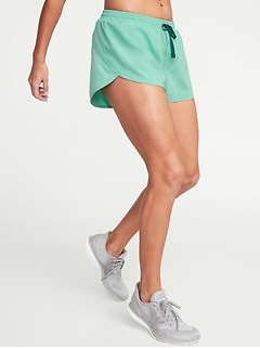 Semi-Fitted Run Shorts for Women - 3-inch inseam