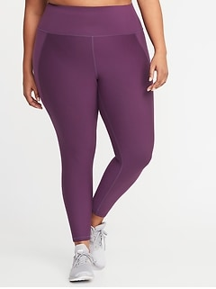 High-Rise Elevate Built-In Sculpt Plus-Size 7/8-Length Leggings