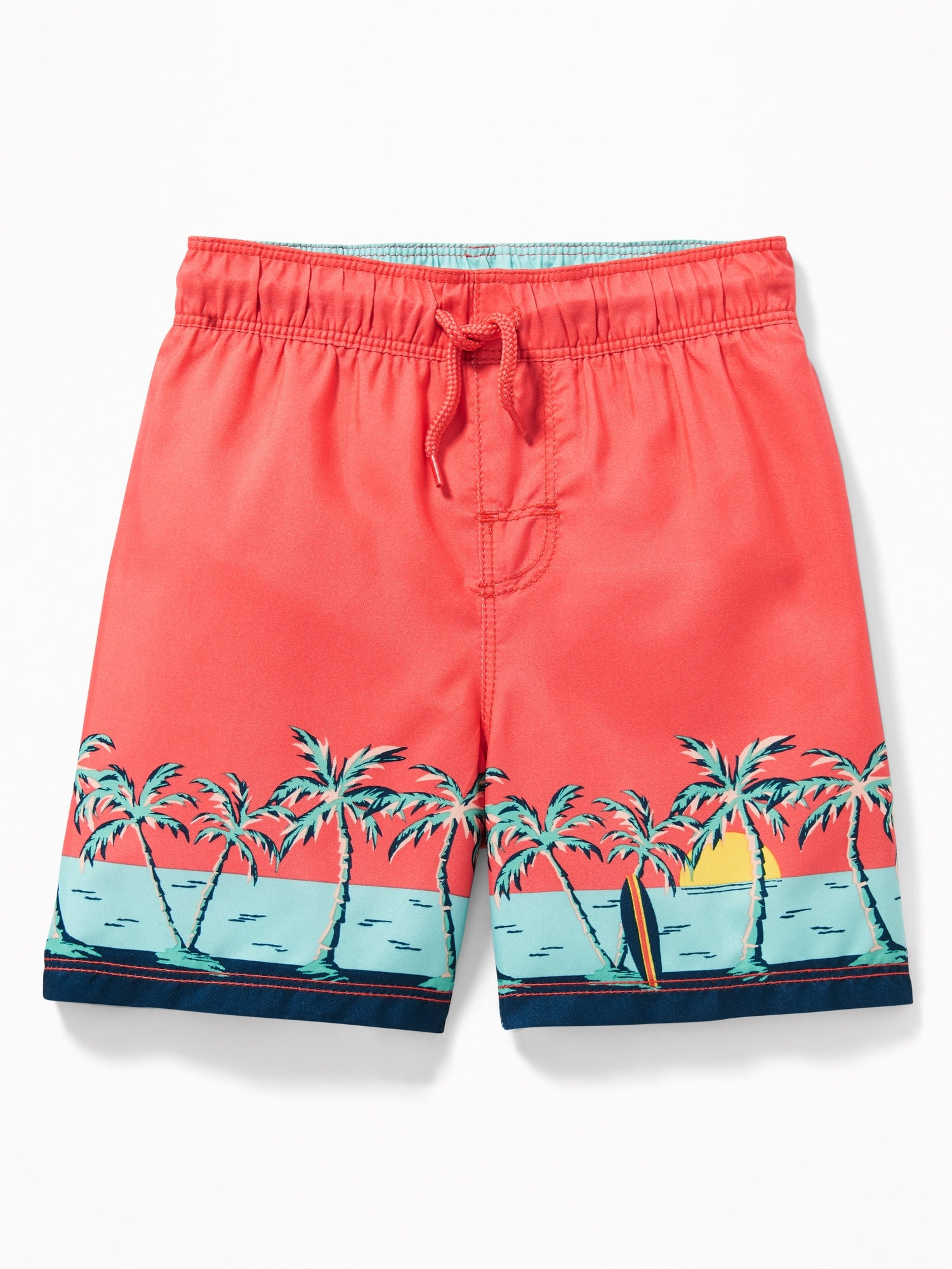 5760b71685 Scenic-Print Swim Trunks for Toddler Boys | Old Navy