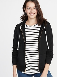 Zip-Front Hoodie for Women
